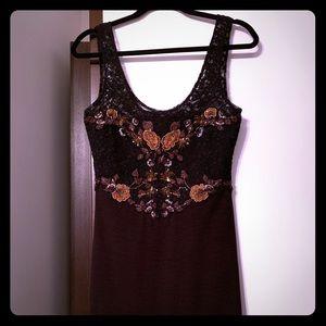 Free People Bodycon Sleeveless Dress
